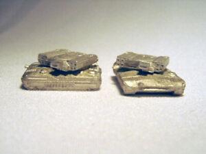 NEW BATTLETECH RAL PARTHA Miniature BT 825 BULLDOG TANKS (2) TR 3026 60 Tons