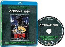 Godzilla 1984: Return of Godzilla  Uncut original version blu ray all region