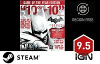 Batman Arkham City GOTY [PC] Steam Download Key - FAST DELIVERY