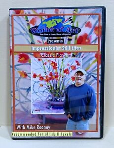 Mikey Rooney Impressionist  Still Lifes Classic Flowers DVD