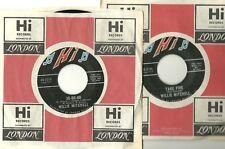 WILLIE MITCHELL ~ Take Five / 30-60-90 ~ ORIGINAL HI 45rpm ~ 1969 ~ EXCELLENT...