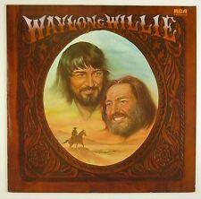 """12"""" LP - Waylon & Willie - Waylon & Willie - B1008 - washed & cleaned"""