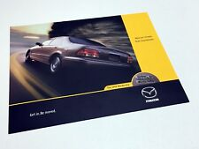 1999 Mazda 626 Information Sheet Brochure