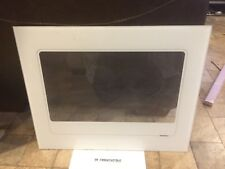 """Large oven Outer Door Glass, white GAGGENAU Eb 600 Series 24"""" Oven"""