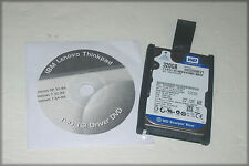 "IBM Thinkpad T60 T61 320GB SATA 2.5"" Laptop Hard Drive with Caddy and Driver DVD"