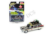 GHOSTBUSTERS ECTO-1A MOVIE CHROME 1/64 DIECAST JOHNNY LIGHTNING JLCP7026