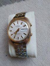Vintage SWISS EMPEROR Alarma Día Fecha Reloj Automático #2
