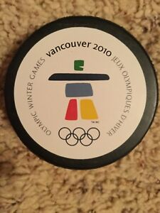 Olympic Winter Games Vancouver 2010 Souvenir Puck