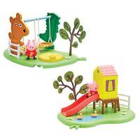PEPPA PIG Toboggan ou à bascule jouet extérieur Aire de jeux amusant SET NEUF