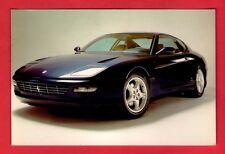 Car Postcard ~ Ferrari 456 GT: 12 Cylinder 5473cc - Niccolini of Italy