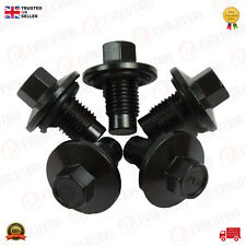 OIL SUMP PLUG (5 IN THE PACK) FOR FORD C-MAX FOCUS ESCORT FIESTA, 97JM 6730 B2A