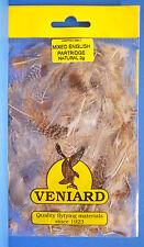 Mixed English Partridge pendiente 2 talla Veniard natural