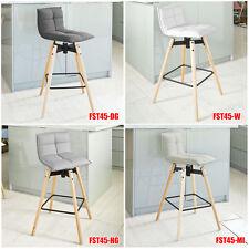 SoBuy® Tabouret de bar cuisine chaise fauteuil bistrot repose-pieds, FST21-45,FR