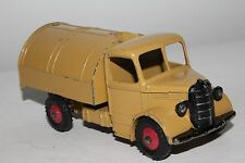 1950's Dinky #252 Bedford Garbage Truck, Tan and Green, Original, #10