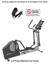 AC Power Adapter for Life Fitness X1 X3 x3i X5 X5i X8 Elliptical Cross Trainer