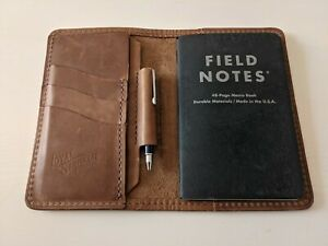 Loyal Stricklin Edison Wallet and Passport/Field Notes Holder