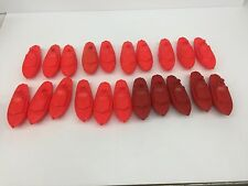 Vintage Antique Plastic Carnival Boats Duck/fish Pond  No Numbers Full Set 21