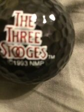 Logo Golf Ball - The Three Stooges - MGM GRAND PXI - Black ball - New