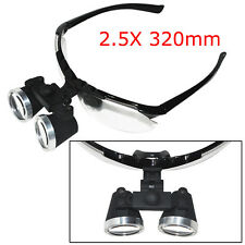 2.5X320mm High-end Luxury Dental Surgical Medical Binocular Loupes Optical Glass