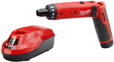 Milwaukee Hex Screwdriver M4 4-Volt Lithium-Ion Cordless 1/4 in. 1 Battery Kit