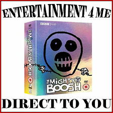 THE MIGHTY BOOSH - COMPLETE SERIES SEASONS 1 2 & 3  **BRAND NEW DVD BOXSET ***