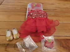 AMERICAN GIRL TRULY ME DOLL SPARKLY JAZZ OUTFIT NEW IN BOX FREE SHIPPING RETIRED