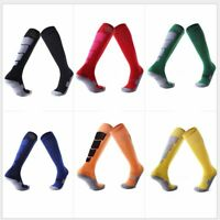 1 Pair Anti-Slip Soccer Sports Socks Men Sock Football Knee Above Long Socks HA