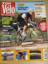 TOP VELO N°109: AVRIL 2006: SPECIAL LIGHT - CANYON F10 - DURA ACE ELECTRIQUE