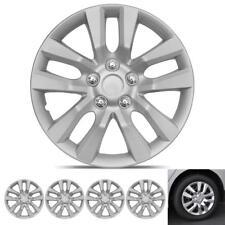 Set of 4 Heat-Resistant Durable Hub Caps 10-Spoke Car Wheel Rim Cover