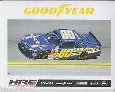 "2014 JOHNNY SAUTER ""GOODYEAR HATTORI RACING"" #80 NASCAR NATIONWIDE POSTCARD"