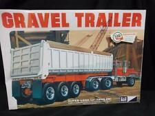 MPC 12 tire Dumping GRAVEL TRAILER model kit 1/25