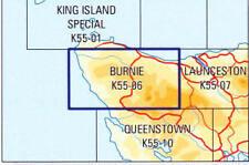 Natmap 1:250,000 Scale Map of Tasmania - Burnie - brand new latest edition