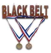 Black Belt Wooden Multiple Medal Display Item:08444 Martial Arts Gifts