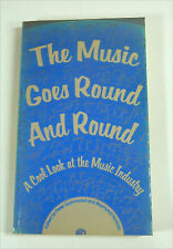 Buch UK 1980: THE MUSIC GOES ROUND AND ROUND Cool Look at Music Industry GAMMOND