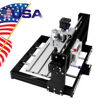 Us Mini Cnc3018 Pro Desktop Engraving Machine Diy Pcb Milling Woodworking Router