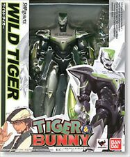 Bandai S.H. shf Figuarts TIGER & and BUNNY Wild Tiger Action Figure