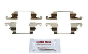 for INFINITI QX4 3.3 1997- FRONT L & R Brake Caliper Pad Fitting Kit (H1614)