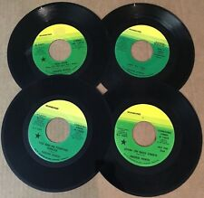 lot of 4 FREDDIE NORTH early 1970s stereo 45s ♫ 3 are DJ-Promo Mankind Records
