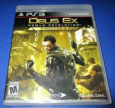 Deus Ex: Human Revolution - Director's Cut Sony PlayStation 3 *Factory Sealed!