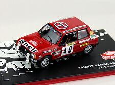 Talbot Samba Rally 1984 #49 1:43 Ixo/Altaya  Modellauto