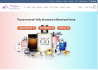 Ready made Drop shipping website Free hosting & set up , Perfume Stores