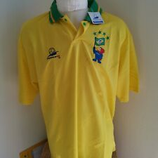 rare maillot de football france 98 bresil Brazil Taille xl vintage  footix