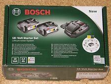 Bosch DIY 18 V Starter Set mit 2x Akku 2,5 Ah und Ladegerät  AL 1830 CV
