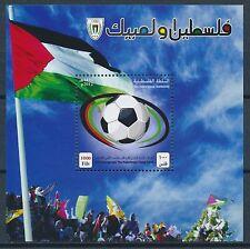 Briefmarken aus dem mittleren Osten mit Fußball-Motiv