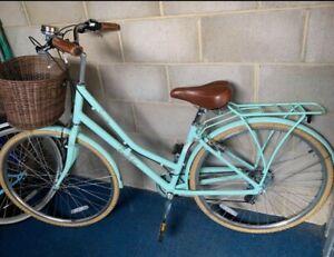 Victoria Pendleton Somerby ladies Bike in Mint Green 17in Frame / 27.5in Wheels