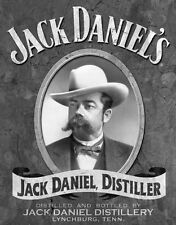 Jack Daniels Daniel's Portrait Retro Metal Tin Sign Made in the USA