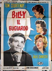 manifesto 2F film BILLY LIAR IL BUGIARDO Tom Courtenay J.Christie J.Schlesinger