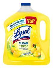 Lysol Clean & Fresh Multi-Surface Cleaner Sparklin Lemon & Sunflower 90oz Refill