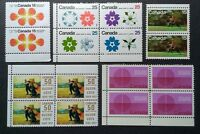 CANADA, NICE LOT OF 16 STAMPS, MNH, FREE SHIPPING!!!
