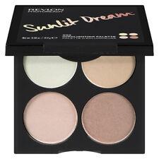 Revlon Photo Ready Sunlit Dream Highlighting Four (4) Shade Palette & Big Mirror